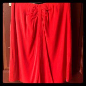 Armani COLLEZIONI Skirt, Tomato Red -Sz 6